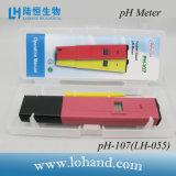 Portátil Prueba rápida del medidor de pH de bajo precio