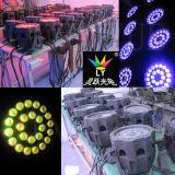 IP65 im Freien 24X12W RGBW Stadiums-Vierradantriebwagen LED NENNWERT Licht