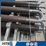 Ahorrador avanzado del tubo de aleta del espiral del cambiador de calor de la tecnología de la soldadura