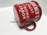 Caneca de esmalte de grosso da fábrica Caneca de leite Caneca de café da Copa da cerveja para propaganda 150ml-600ml