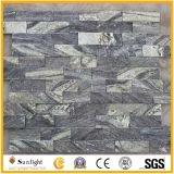 Noir / Gris / Vert / Bleu Ardoise naturelle / Granite / Quartz Mur Revêtement Pierre de culture