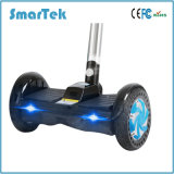 Scooter eléctrico permanente Smartek Two-Wheeled Patinete Electrico Scooter de movilidad Hoverboard plegable Tool S-011