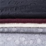Tessuto cotone/delle lane con il tessuto del jacquard nel bianco