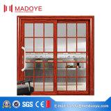 Puerta deslizante excelente del estilo chino de la calidad con rallar