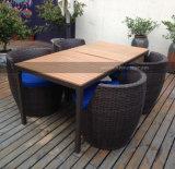 Presidenza rotonda del patio Mtcd-104 del rattan esterno della mobilia