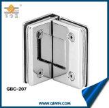 Venda por grosso de latão e aço inoxidável de Hardware da dobradiça da porta de vidro