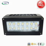 LED Wallpack Light Slim Profile Design 25W IP65 étanche