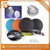 Kithchenにアルミニウム炊事道具(A1050 1100 3003)のアルミ合金シートの円を作る