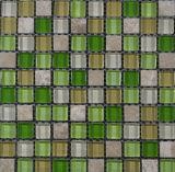 Mosaico de cristal para pared
