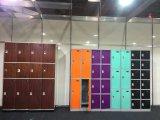 Kleines Schließfach für Gymnastik mit 6 Reihen