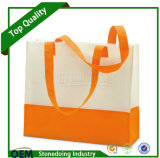 カスタムロゴの順序の生物分解性の再使用可能な非編まれた袋