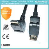 In het groot OEM 90 de Kabel HDMI van de Omwenteling 1080P van de Graad