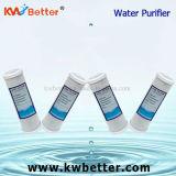 Cartucho del purificador del agua del CTO con el cartucho de filtro del suavizador de agua