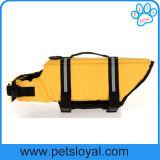 Vestiti del cane di sicurezza del giubbotto di salvataggio dell'animale domestico della fabbrica