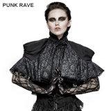 Delirio punky Ly-061 romano el papa Fashion Velvet Cloak para la Navidad
