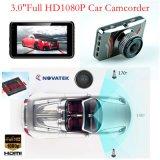 """Hot Sale 3.0 """"HD Screen Full HD1080p Car DVR no Dash Caixa escondida do carro preto Construído em lente de 6g, 170degree Angle de visão, WDR, Motion Dectection, Camcorder de carro DVR-3014"""