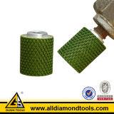 Roda do cilindro do diamante da resina para a pedra (HSRDDW)
