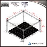 Fardo de alumínio do telhado do fardo do estágio de iluminação