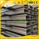 Custom 6063 Perfil de aluminio extrusionado de aluminio para fachada