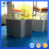 紫外線保護GRPガラス繊維の波形シート