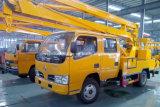 二重タクシーの空気のプラットホームの手段15mの油圧空気のケージ