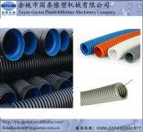 Guotai PAのPE PVC波形の管の押出機
