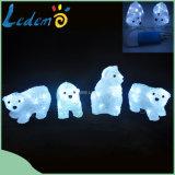 Свет медведя USB СИД акриловый декоративный