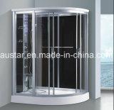 Sauna de vapor de canto 1500mm com chuveiro (AT-D8813)
