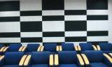 Panneaux de mur acoustiques de fibre de décoration intérieure