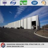 Magazzino della struttura d'acciaio dell'indicatore luminoso di disegno dell'impianto industriale