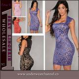 Vestido de vestir para senhoras das mulheres de moda feminina