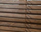 35mm de stores vénitiens en bois avec échelle de chaîne