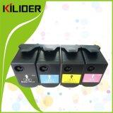 Cartucho de toner compatible caliente Nueva Impresora láser a color para Lexmark CS310