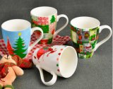 13 oz Liling Ceramic Mug avec un design simple