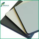 Seule la surface brillante côté décoratif stratifié compact