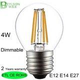ampoule 85-265V de filament de 4W G45 DEL