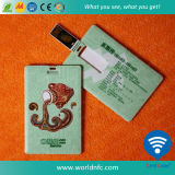8g Impressão personalizada ABS Flash Drive USB Business Card for Gifts