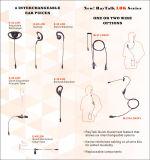 Accesorios para auriculares de radio de dos vías Walkie Talkie