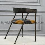 レストランのための現代併合の革ホテルの椅子デザイン