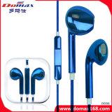 Acessórios para telefone móvel vários auriculares de cores com controle de linha