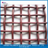 Malla de alambre prensado de acero, malla de malla de minería, malla de alambre cuadrada