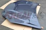 Capô de fibra de carbono para Rohens Gênesis Coupe 2008