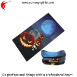 Écharpe de cuir épais de polyester de Veille de la toussaint pour la promotion (YH-HS104)
