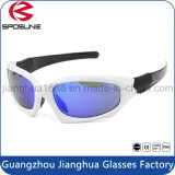 Изготовленный на заказ напольные стекла глаза печатание UV400 логоса солнечных очков спортов защитные ломкие велосипед задействуя участвуя в гонке идущие
