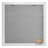 Painel Rectangular HVAC difusor de ar SWIRL Tampas de Condicionador de Ar