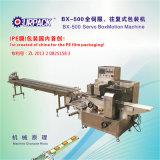 Máquina de embalagem horizontal do fluxo do Caixa-Movimento servo