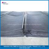 鉱山のふるいスクリーンの網のための最上質のステンレス鋼のひだを付けられた金網
