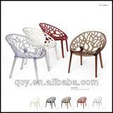 2017년 공장 도매 투명한 플라스틱 아크릴 식사 Chiavari 의자