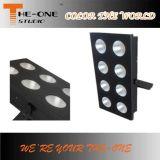 8 * 100W blanca soltera frío o caliente LED blanco Blinder etapa luz