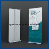 Preço por atacado Aluminum Wide Base Banner Stand Roll up Stand for Outdoor Advertising